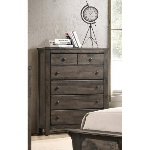 New Classic Furniture - Blue Ridge Chest - Rustic Gray
