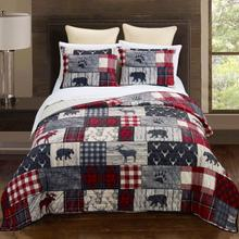 Timber Queen 3-Piece Quilt Set