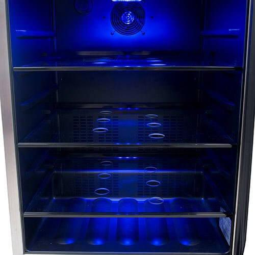 EdgeStar 142 Can Stainless Steel Beverage Cooler
