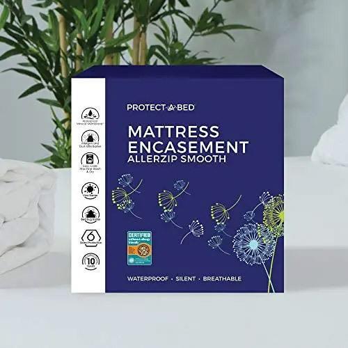 """Protect-A-Bed - AllerZip Smooth Mattress Encasement 13"""""""
