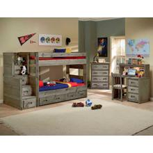 View Product - Wrangler Twin/Twin Bunkhouse (Bunk Bed Only)