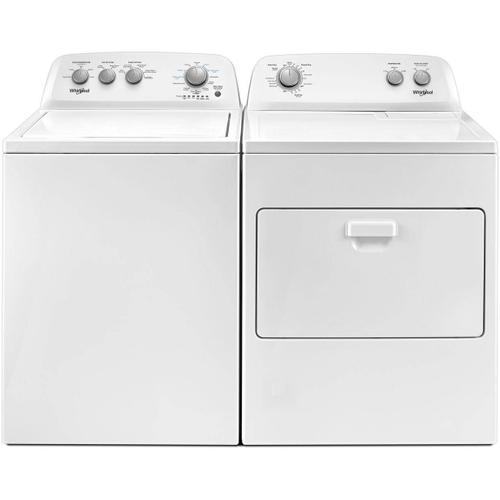 Whirlpool Side-by-Side Washer & Dryer Set (Top Load Washer & Gas Dryer)
