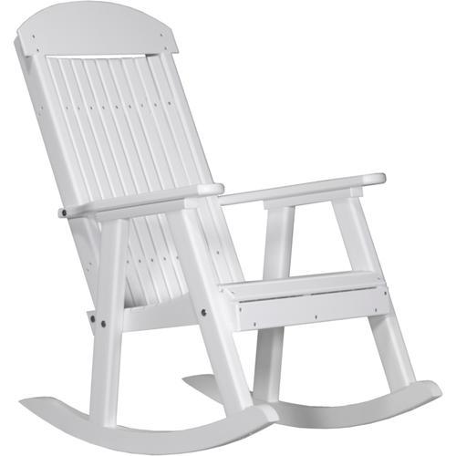 Porch Rocker White