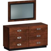 American Modern Double Dresser