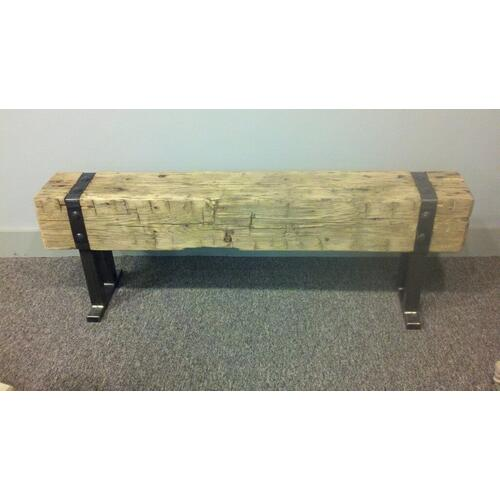 Barn Beam Bench and Console