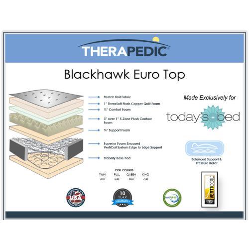 Therapedic - Blackhawk - Euro Top
