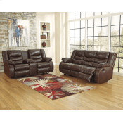 Reclining Sofa and Console Loveseat