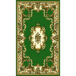 Medium - Taj Mahal 112 Hunter Green 5x8 Rug
