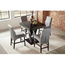 View Product - 5 Pc Counter Height Dining Set