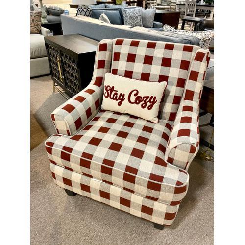 Rothbury Crimson Accent Chair