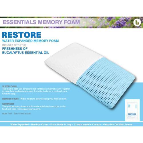 Gallery - Essentials Memory Foam - Restore