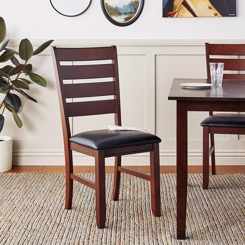 Crown Mark - Bardstown 7 Pc Regular Height Brown Dinette Set by CrownMark, Model 2152