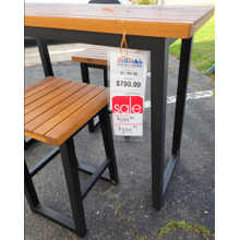 View Product - Counter Table Set (3/CN) Brown/Black