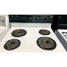 "USED- 30"" Free-Standing Electric Range- E30WHCOIL-U   SERIAL #28"