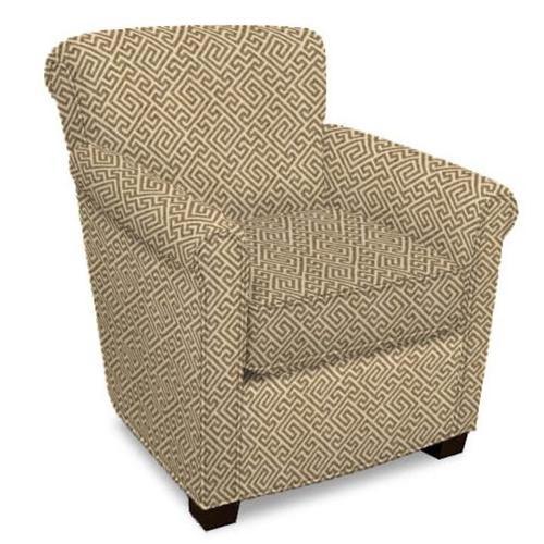 England Furniture - Jakson Arm Chair 3C04 - Zuni Pewter