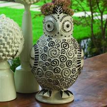 Owl Vase-Lg