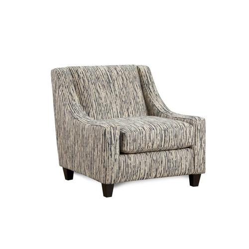 Designer's Choice - Local Color Steel Accent Chair