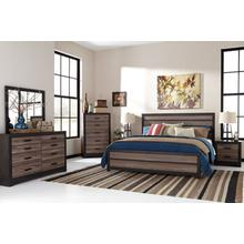 Harlinton Qn Bed, Dresser, Mirror and Nightstand