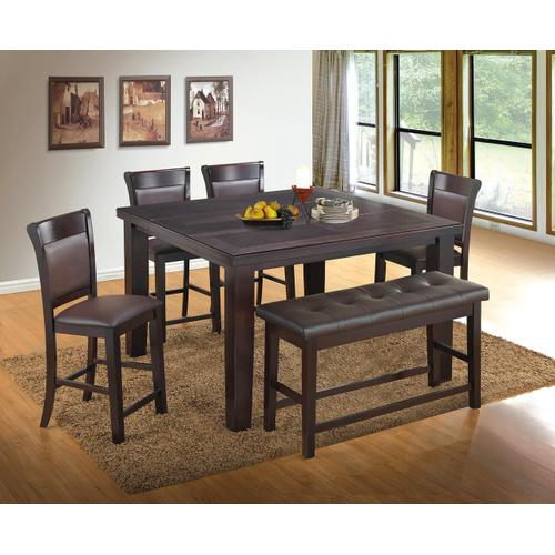 Gallery - Empire Pub- Table/ 4 Chairs& Bench