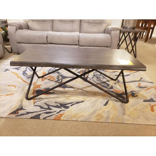 """Flex - Flexsteel- """"Shadow"""" Collection Coffee Table, End Table, and Chairside Table"""