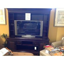 View Product - 2 Piece Wall Unit Console and Deck