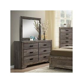 Nathan Rustic Dresser with Six Drawers