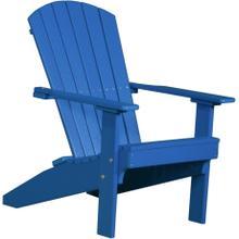 Lakeside Adirondack Chair Blue