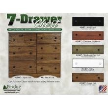 View Product - 7 Drawer Chest