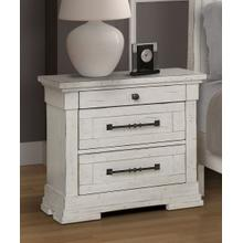 LIFESTYLE C8047ANS Gracie Antique Whitewash Night Stand