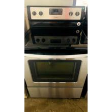 Product Image - USED- 5.3 Cu. Ft. Freestanding Electric Range with Easy Wipe Ceramic Glass Cooktop- E30SSGLAS-U  SERIAL #78