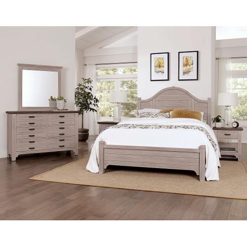 Bungalow Dover Grey Double Dresser