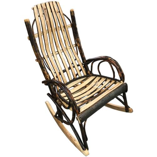 Jumbo Amish Hickory Rocker