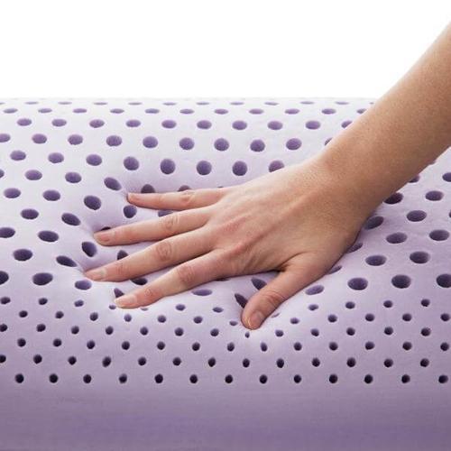 Malouf - Zoned Dough Lavender Pillow