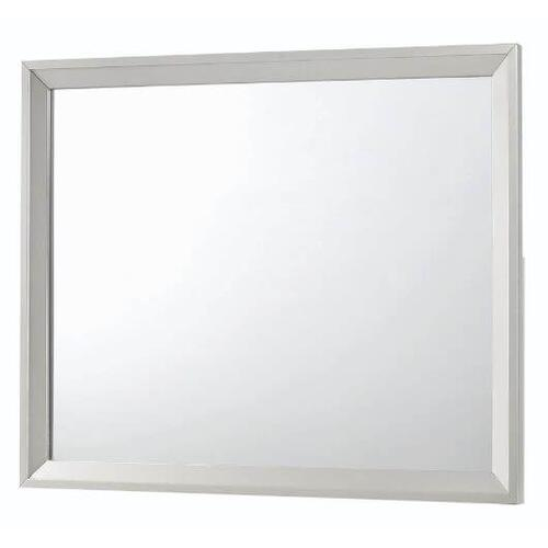 Ramon Dresser Mirror Metallic Sterling