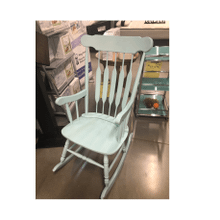 Rocking Chair Pastel Blue