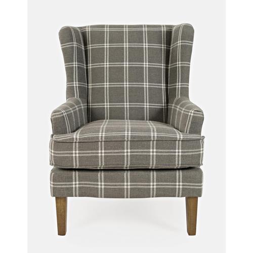 Jofran - Lacroix Accent Chair Graphite