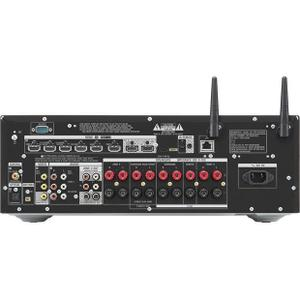 Sony - 7.2-channel receiver with Wi-Fi, Bluetooth, Dolby Atmos, and DTS:X