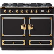 Matte Black Cornufe 110 with Polished Brass Accents
