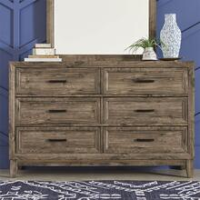 Ridgecrest 6 Drawer Dresser