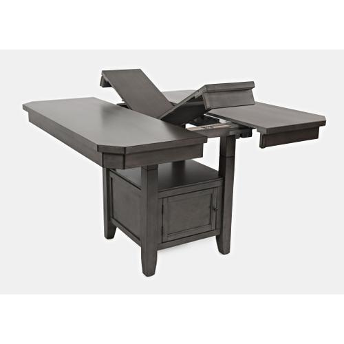 Jofran - Manchester High/Low Square Dining Table - Grey
