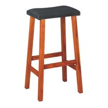 "30"" Manhattan Leather Bar Stool"