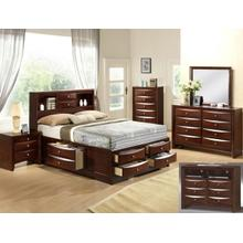 CrownMark 4 Pc Queen Bedroom Set, Emily B4265