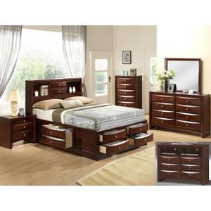CrownMark 4 Pc Queen Bedroom Set, Emily B4265