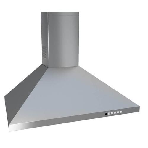 Faber CLAS36SS Stainless Steel Wall Mount Chimney Hood 600 CFM Internal Blower, 36-Inch