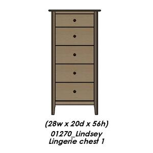 Palettes By Winesburg - Lindsey Lingerie Chest
