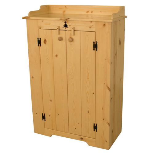 Best Craft Furniture - BW595 Medium Jelly Cabinet with Tree Cutout