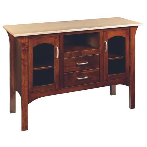 Country Value Woodworks - Monarch Server With Drawers