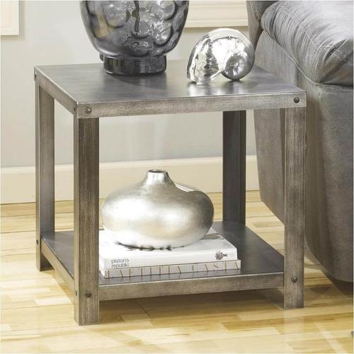 Ashley Furniture - Hattney Square End Table