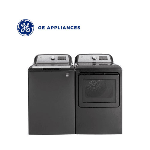 View Product - GE Diamond Gray Top Load Laundry Pair Package