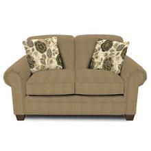 Philip Loveseat 1256 - Urban Wheat with Monita Adrift Pillows